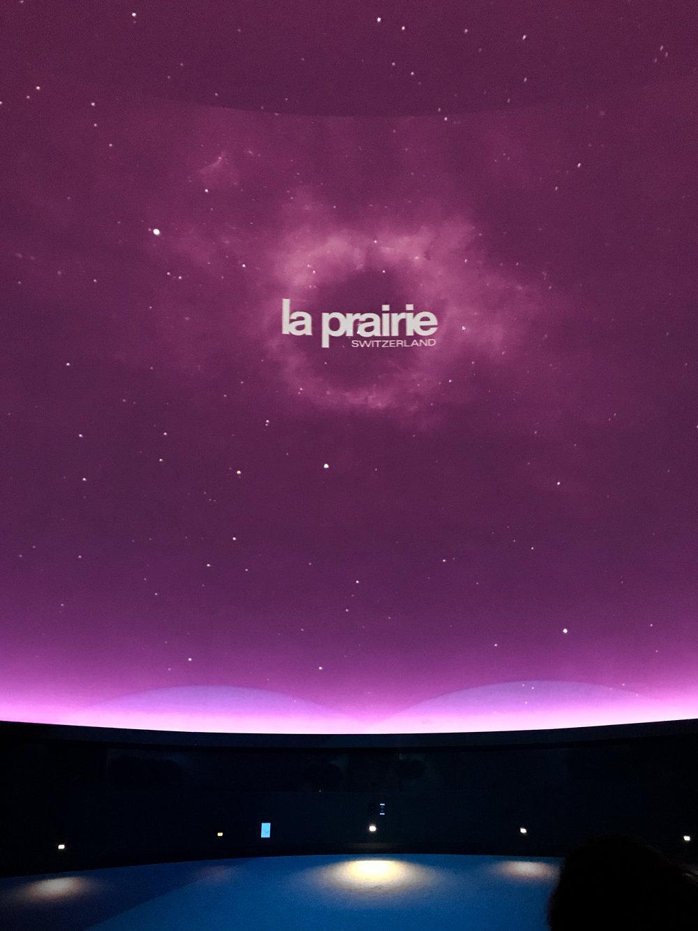 La Prairie screening at the Perez Art Museum Miami Planetarium