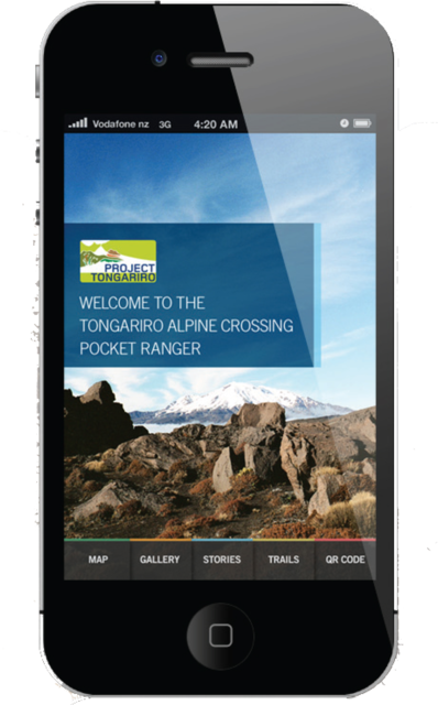 Pocket Ranger  The smartphone APP guide to the Tongariro Alpine Crossing.