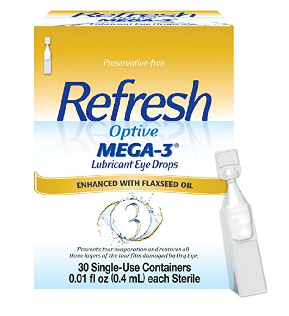 The preservative-free eye drops I use with added Omega-3's.