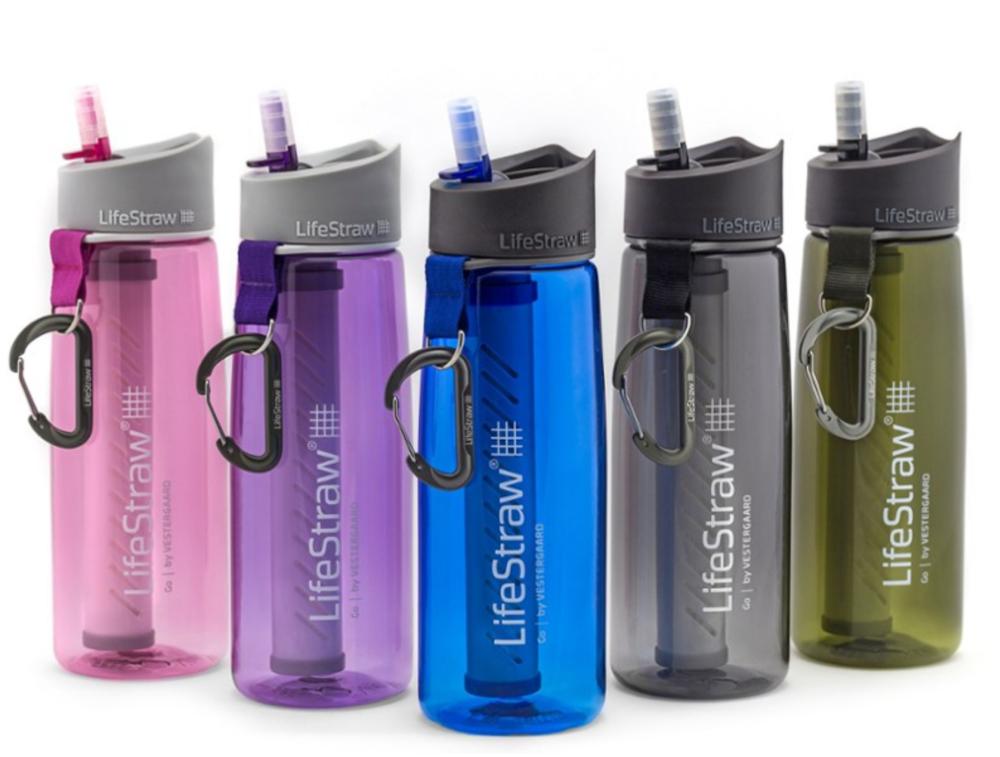 LifeStraw Go Filter Bottle with 2-Stage Filtration - 22 fl.oz.
