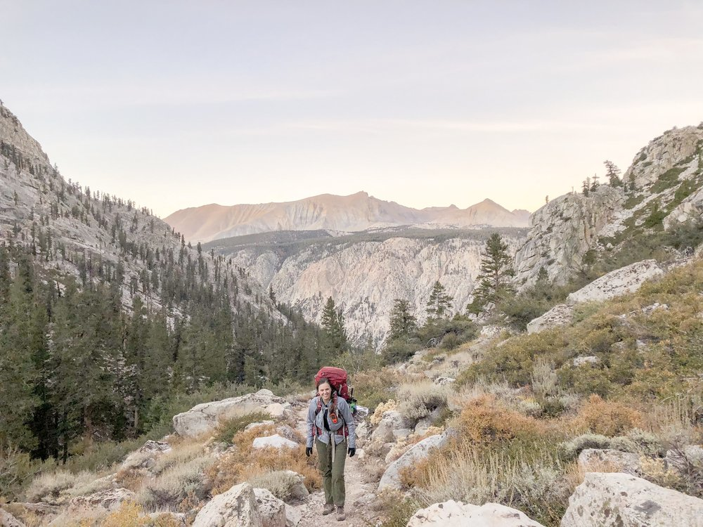 backpacking pack list