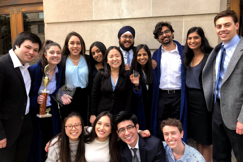 Memphis ORCS (3/23 - 3/25) - Berkeley is going to Nationals! With a record of 6-1-1, A team won 2nd in the tournament and a bid to the Minneapolis National Championship Tournament. A Team also won the Spirit of AMTA award and B Team earned a record of 4-4! We had an impressive 4 individual awards winners. Congrats to...Jenny Jang, All-National Attorney with 16/20 ranksSmita Balaji, All-National Attorney with 17/20 ranksGurbir Singh, All-National Witness with 17/20 ranksKey'Toya Burrell, All-National Witness with 19/20 rankThanks to Rhodes College for hosting a wonderful tournament!