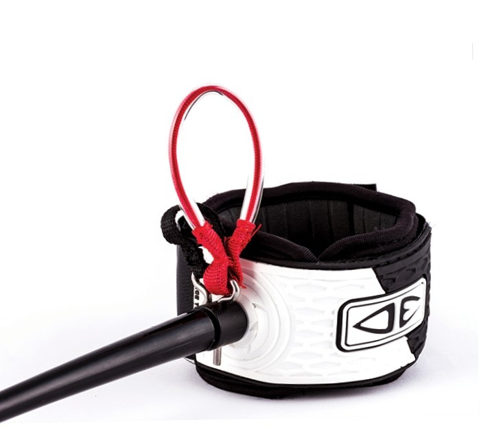 """Large easy grab loop for easy release"" - Big Wave Pin Release Leash - 15ft"