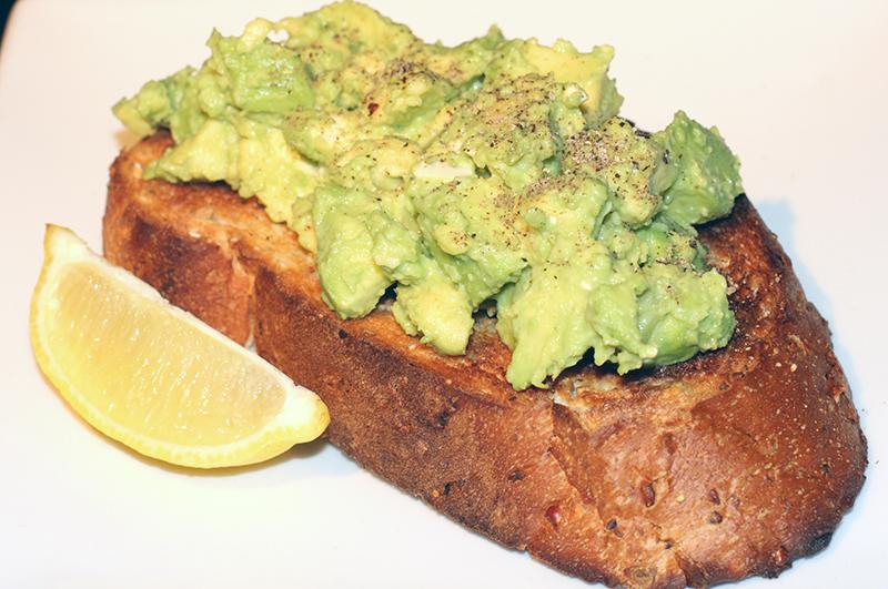 Avocado on Toast (Salmon Available)