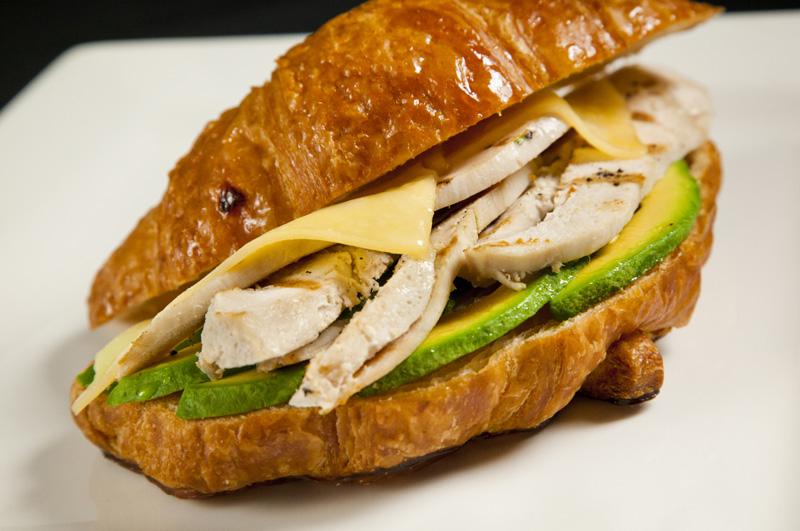 Chicken & Avocado Croissant