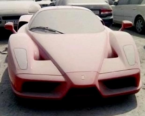 This poor Ferrari Enzo was repossessed and left un-cared for in the banks lot. What a shame! Did you know how much a Ferrari Enzo is worth in Australia? Try $3,999,800! And that's second hand! If you're considering it, here is the listing to buy  [Buy a Ferrari Enzo]  As for the one in the repo lot, well we'd love to give that full detail and at least get it back out into the market, it's meant to be cruising on the roads, not sitting and getting dusty…  [source]