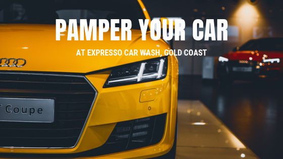 Pamper your car at the top quality car wash provider in Gold Coast