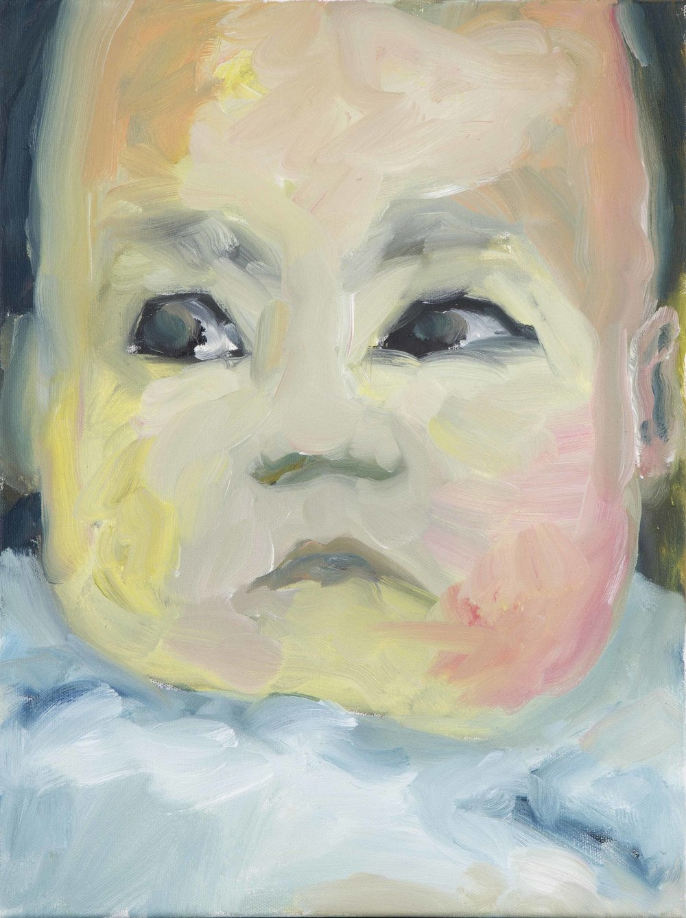 Beatrix 1   2012  oil on canvas  30 x40 cm  private collection