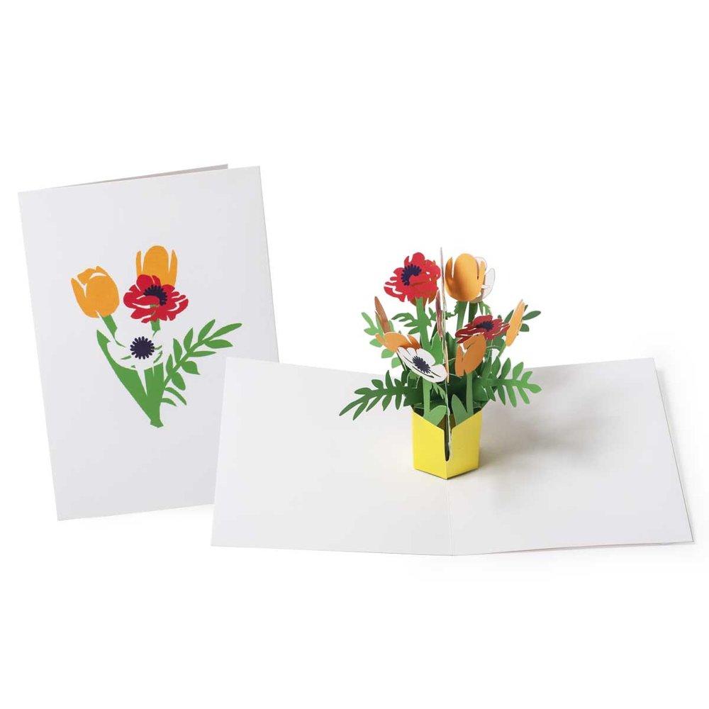 moma bouquet_maike biederstaedtjpg - Moma Holiday Cards