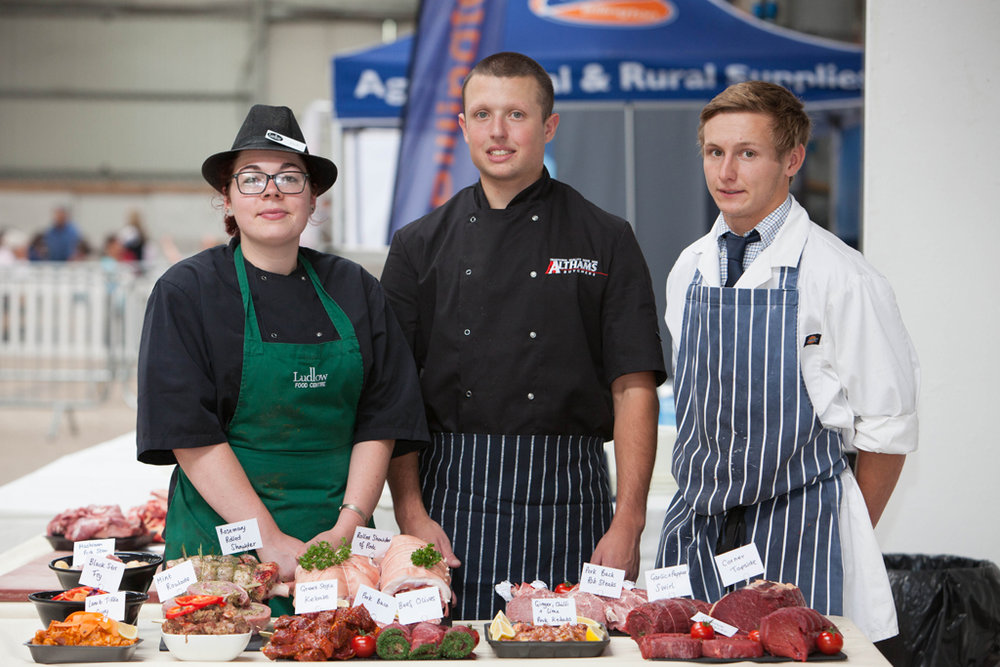 Butchery Challenge: Jess Pugh, Jake Edwards & Ben Greenfield