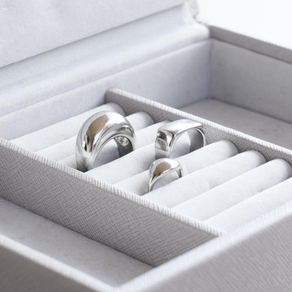 Carve a silver ring workshop - £70 -