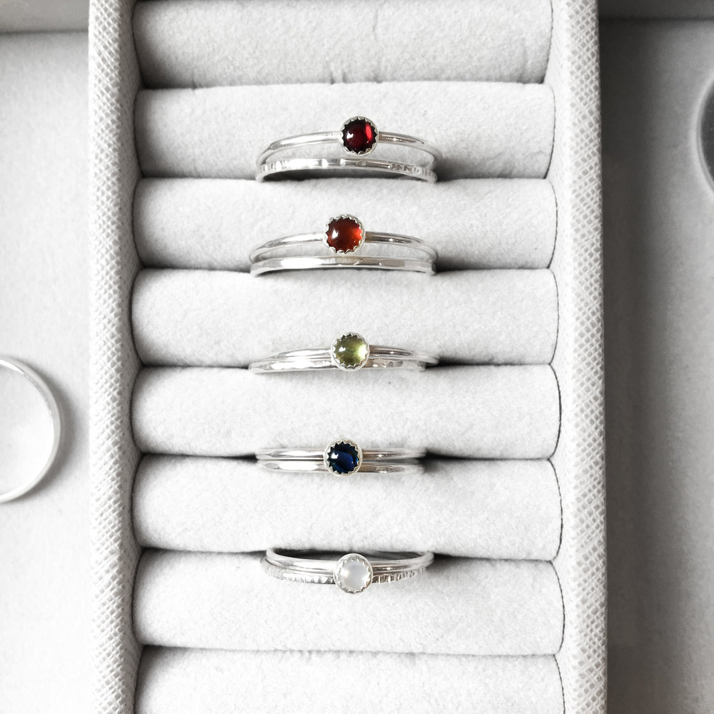 Make your own sterling silver rings workshop - £55 -