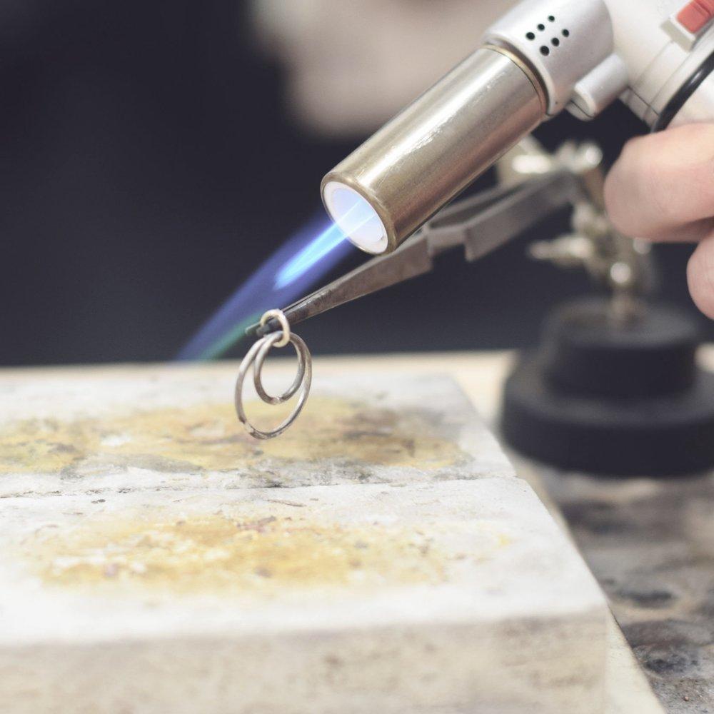 4 Week silver jewellery course - £160 -