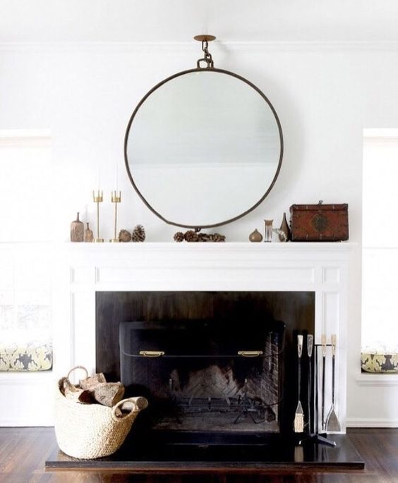 Mirrors:  Mirrors are a great way to enhance a space, and they also trick the eye into thinking a space is bigger than it really is, which can be critical in a small apartment.