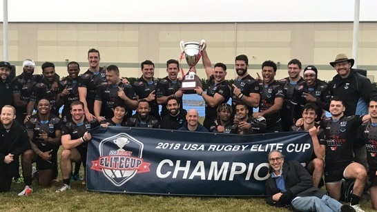 October 27, 2018    Hope Field, Chicago, IL    Old Blue 38 - Chicago Lions 29    2018 USA Rugby Elite Cup Champions
