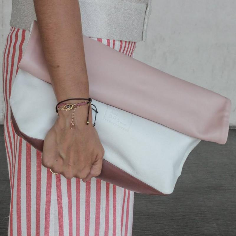 Paper Bag rosa peil, Leandra