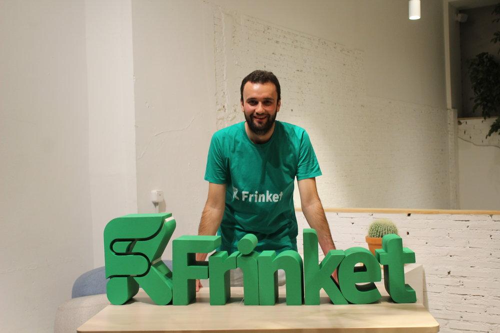 Pablo García de León, CEO de Frinket