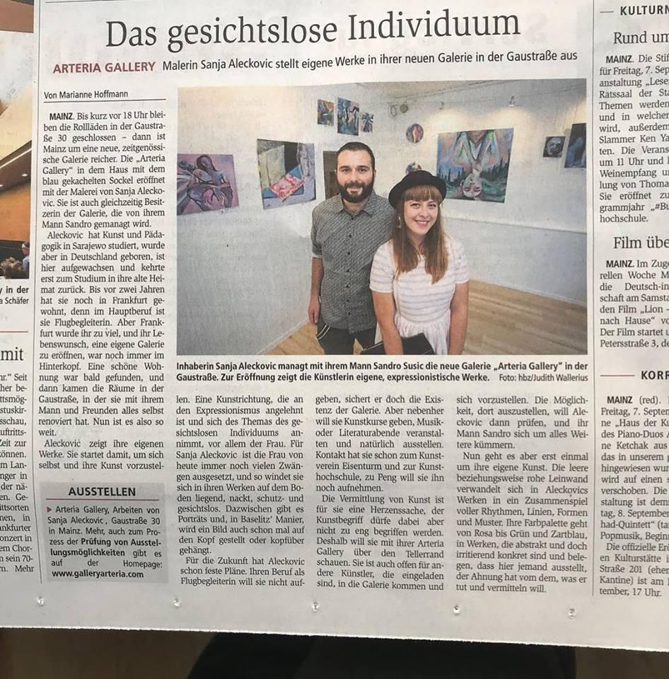 Allgemeine Zeitung - ARTIKEL ONLINE LESEN