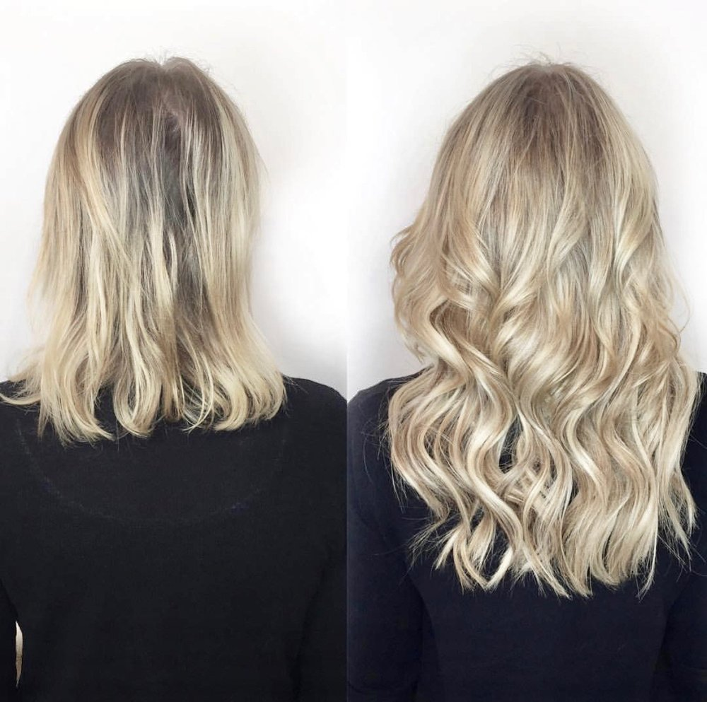 Tape In hair extensions London