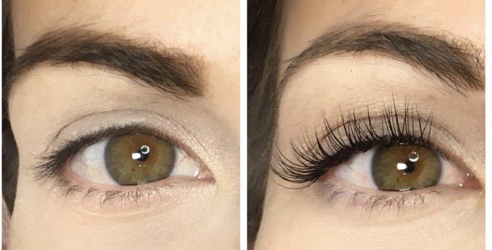 Natural eyelash extensions London