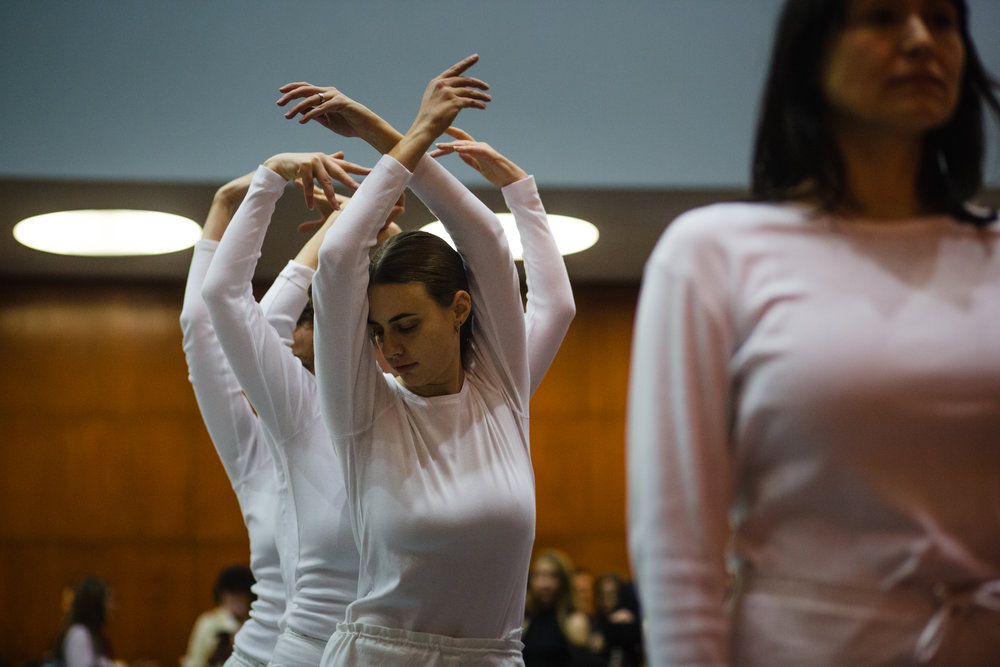 Trisha Brown performance at the NY Public Library for The New York Times