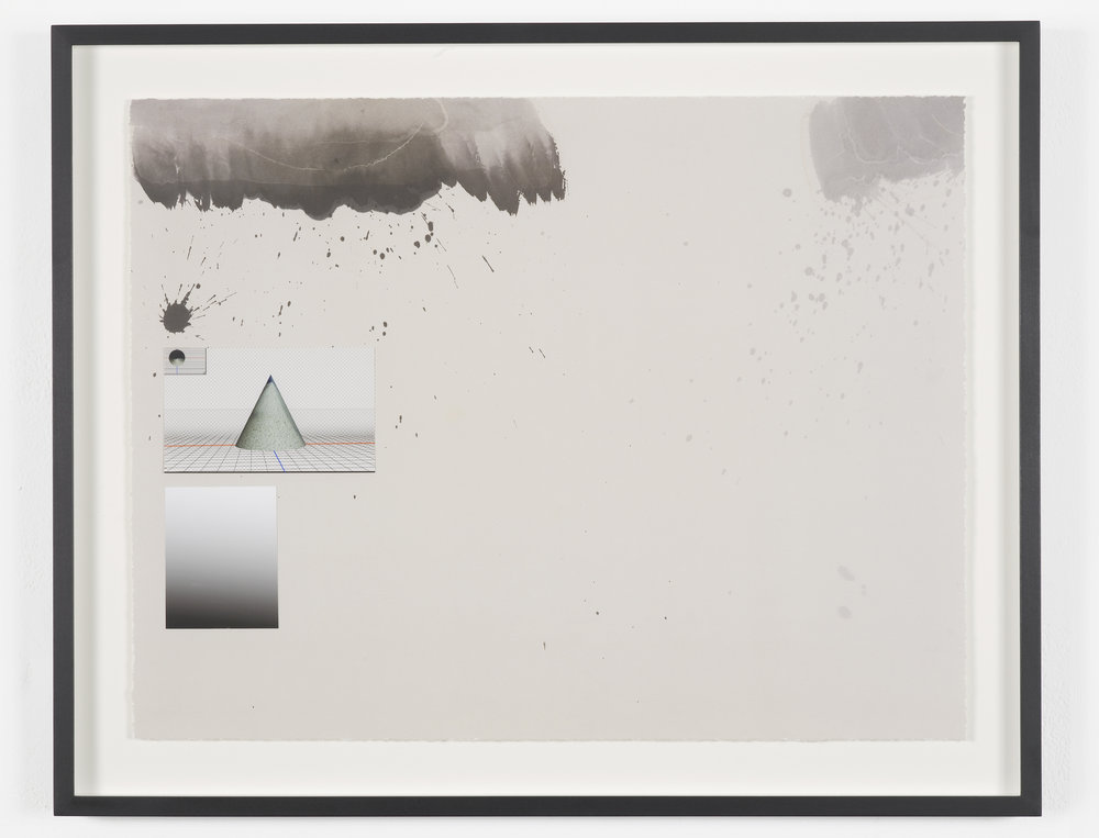 Camille Henrot,   Untitled  , 2016  Lithograph and digitally printed collaged elements on Somerset Satin White 300gsm  Edition of 45 +5AP, signed and numbered