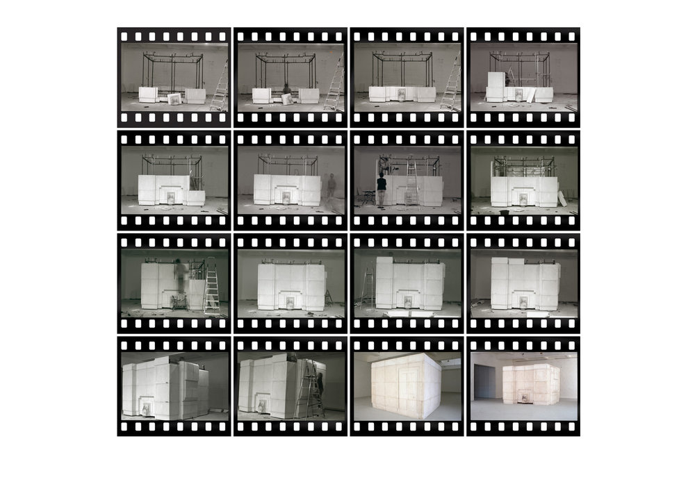 Rachel Whiteread,   Installation of Ghost  , 1990-2012  Digital C-type print on Fuji Crystal Archive paper  Edition of 100 + 25AP, signed and numbered