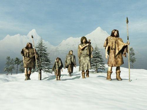 Paleolithic Ice Age Europeans by Esteban De Armas