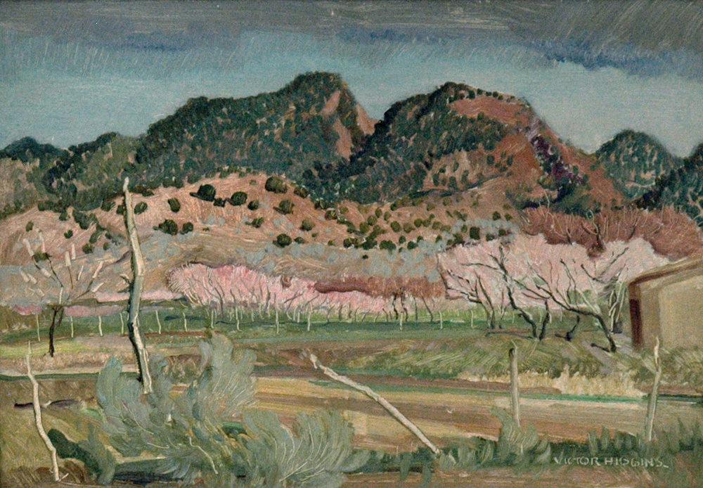 Taos Landscape, 12 x 17, oil on board