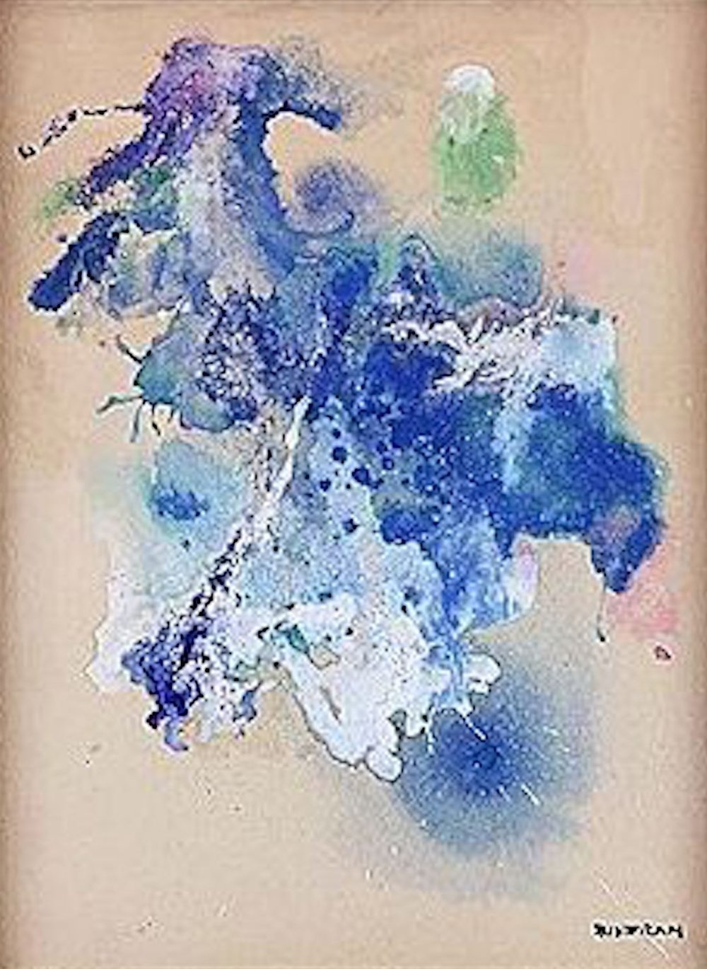 Untitled, 11.5 x 8, oil on board