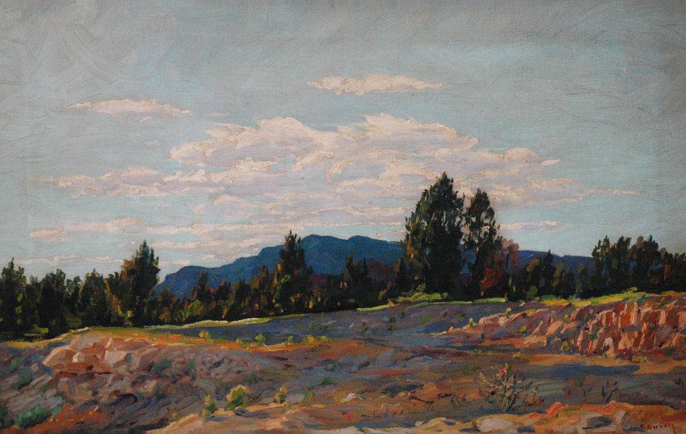 Cedro Canyon, 18 x 28, oil on canvas