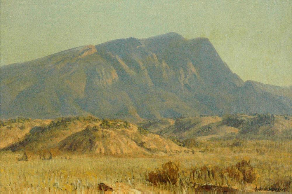 Sandias from Anipstara, 12 x 18, oil on canvas