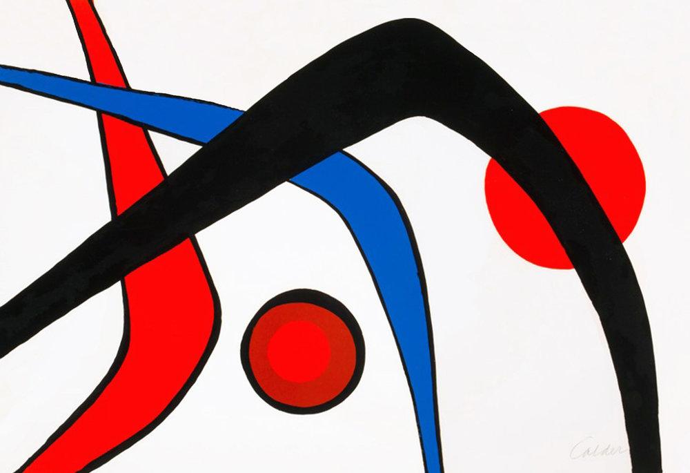 Les Trois Arches, 30 x 43, lithograph