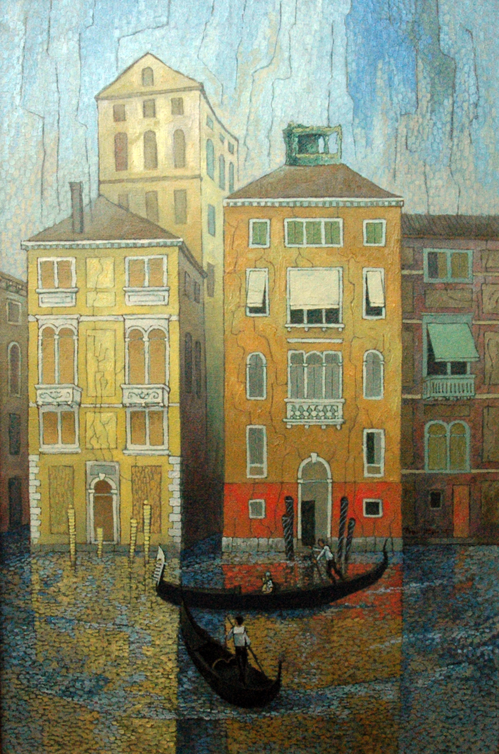 Venice, 28 x 20, oil on canvas