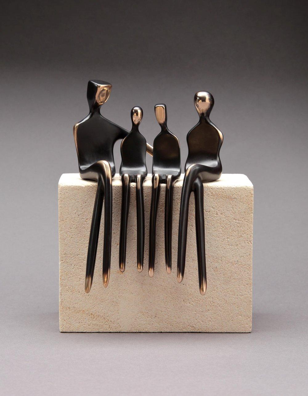 "5.5"" customizable figurines, bronze"