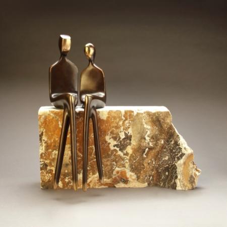 "15""customizable figurines, bronze"