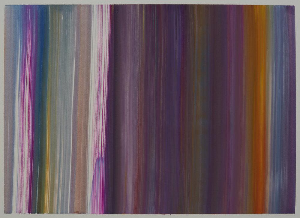 Benevolent Sunrise 12, 9 x 12 watercolor on paper