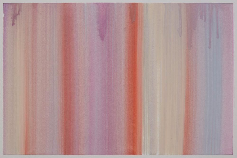 Benevolent Sunrise 20, 9 x 12 watercolor on paper