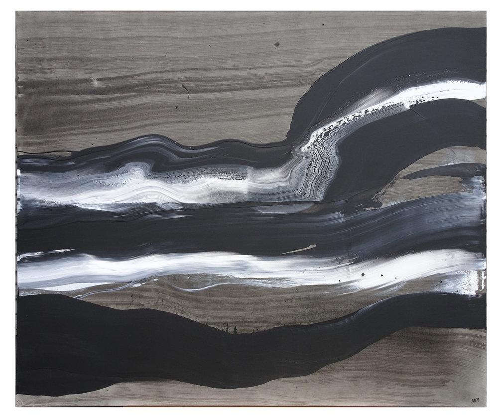 *sold* Energy One, 60 x 72, Acrylic on Canvas, 2018