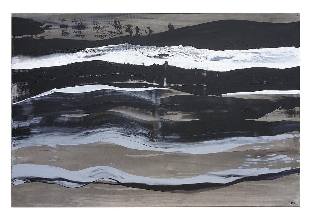 Energy Four, 48 x 72, Acrylic on Canvas, 2018