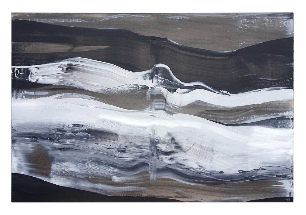 Energy Five, 48 x 72, Acrylic on Canvas, 2018