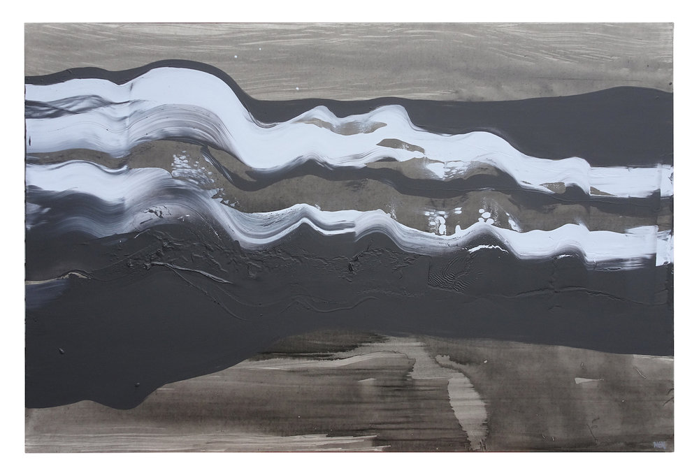 Energy Six, 48 x 72, Acrylic on Canvas, 2018