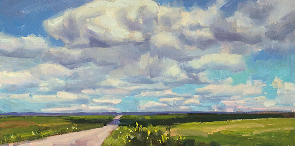 Southwest Colorado, 12 x 24, oil on canvas