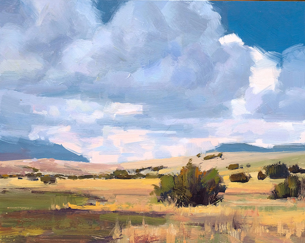 *sold* High Desert, 8 x 10, oil on canvas