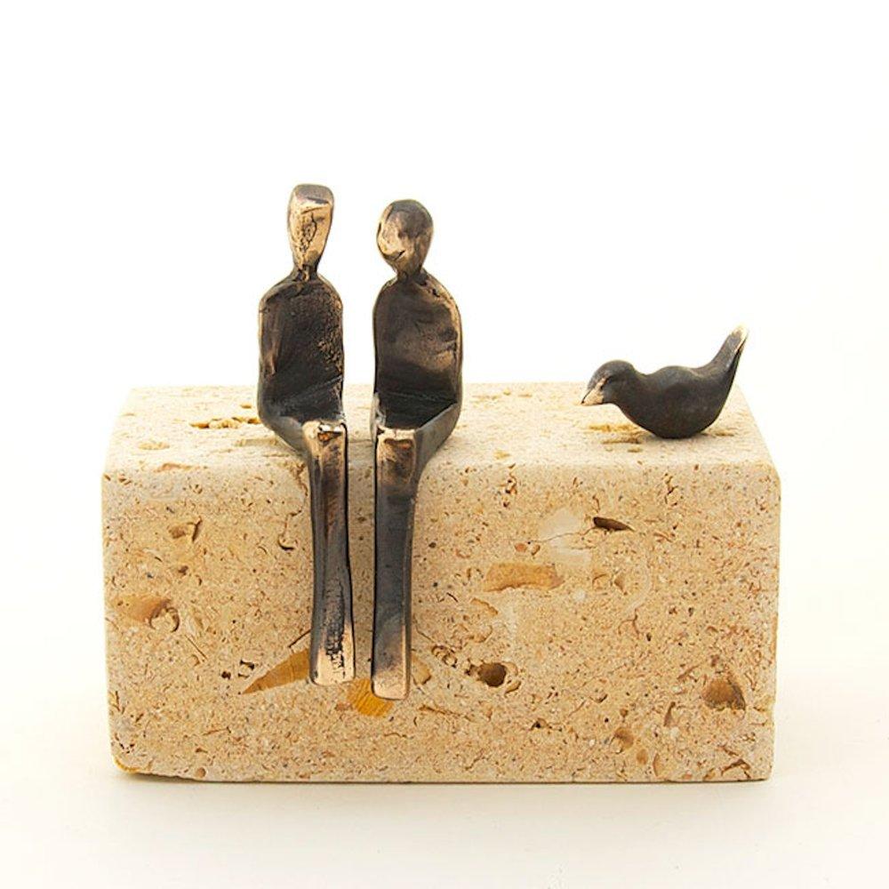 "3"" customizable figurines, bronze"