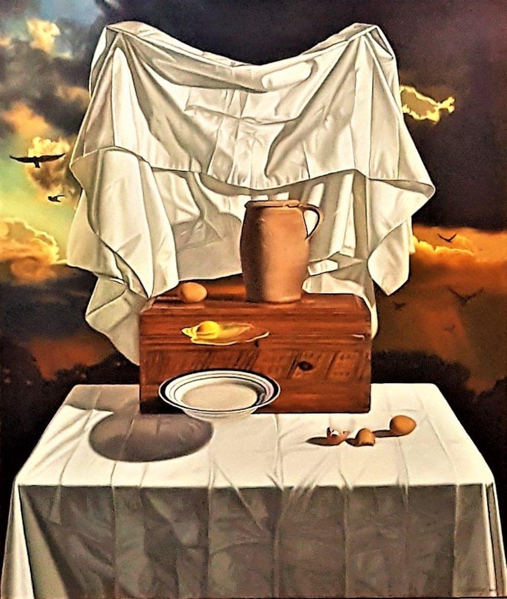 Magician II, 40 x 35, oil on canvas