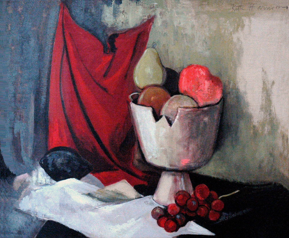 Still Life, 20 x 24, oil on canvas, 1950