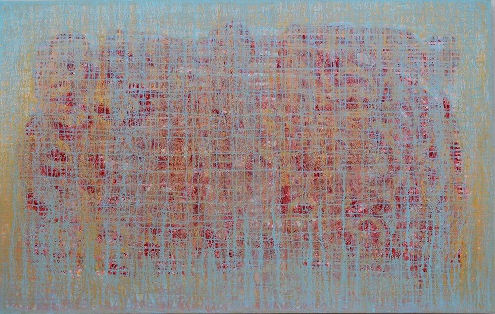 Despertares (Awakenings), 36 x 60, acrylic on canvas