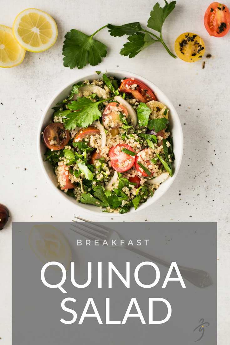 Summer Quinoa Breakfast