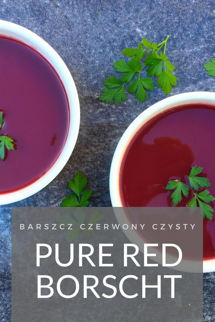 Polish Beet Soup
